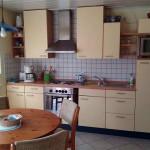 Ferienwohnung Küche, Ausstattung Haus Rose, Sitzecke