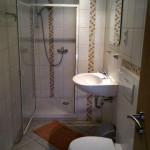Badezimmer, Dusche WC, Ausstattung Haus Rose