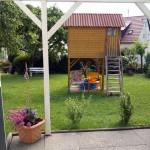 Gartenlaube, Spielplatz, Gartenanlage