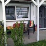 Terrasse, Gartenmöbel, überdachte Terrasse